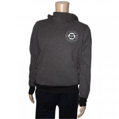 Mens Button Hoodie
