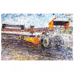 A1 Top Fuel Dragster Fine Art Print