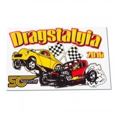 Dragstalgia 2016 Window Sticker