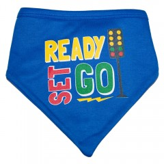 Ready, Set, Go Bandana Bib