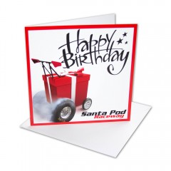 Dragster Gift Greeting Card