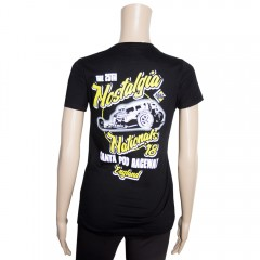 2018 Nostalgia Nationals Ladies Fitted T-shirt