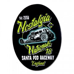 2018 Nostalgia Nationals Sticker