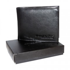 Leather Serpentine Logo Wallet