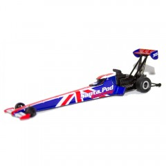 Limited Edition Santa Pod Souvenir 1:64 Dragster