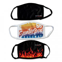 Santa Pod Face Masks