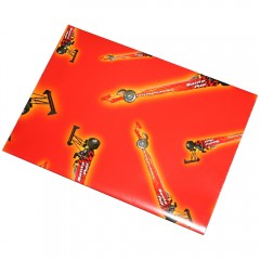 Dragster Wrapping Paper