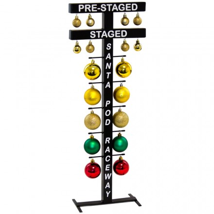 standing Drag Racing Startline Christmas Tree