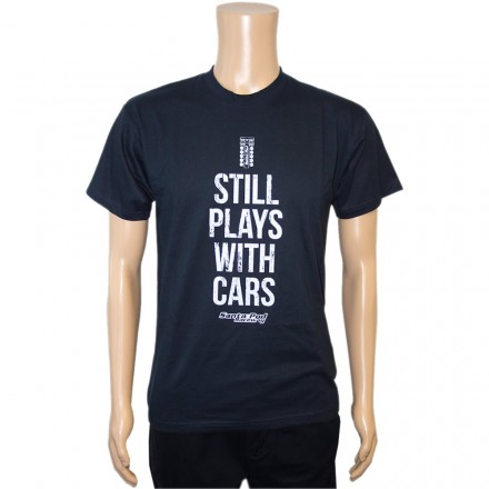 Mens Still Plays With Cars T-Shirt