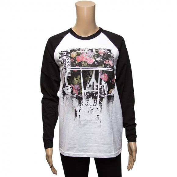 Womens Floral Dragster Raglan
