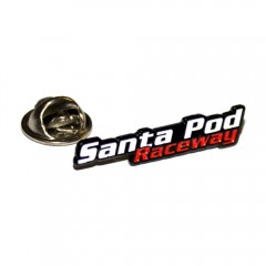 Santa Pod Serpentine Pin Badge
