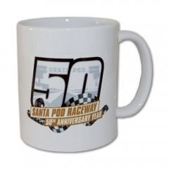 50th Anniversary Race Logo Mug