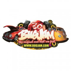 Bug Jam 30 Window Sticker