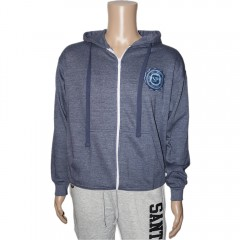 Mens Rose Logo Zip Up Hoodie