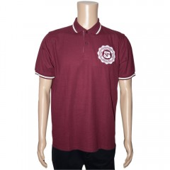 Mens Rose Logo Polo Shirt
